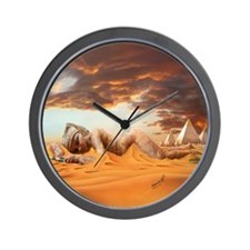 Cleopatra Sleeping Wall Clock