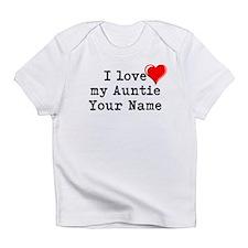 I Love My Auntie (Custom) Infant T-Shirt