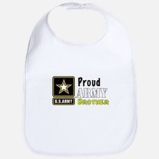 Proud Army Brother Bib