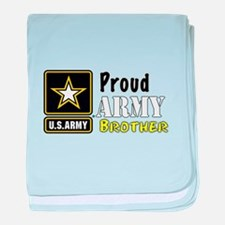 Proud Army Brother baby blanket