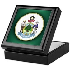 Maine Seal.png Keepsake Box