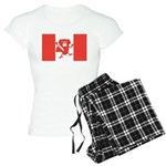 Canadian Flag Women's Light Pajamas