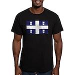 Stubbie Beer Quebec Men's Fitted T-Shirt (dark)