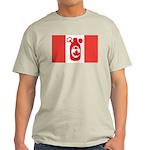 Stubbie Beer Canadian Flag Light T-Shirt