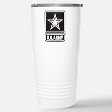 Army Black Star Logo Travel Mug