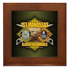 1st Manassas (battle)1.png Framed Tile