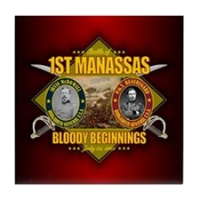 1st Manassas (battle)1.png Tile Coaster