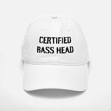 Certified Bass Head Baseball Baseball Cap