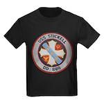 USS STICKELL Kids Dark T-Shirt