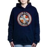 USS STICKELL Women's Hooded Sweatshirt