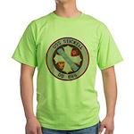 USS STICKELL Green T-Shirt