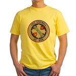 USS STICKELL Yellow T-Shirt