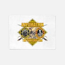 Appomattox (battle)1.png 5'x7'Area Rug