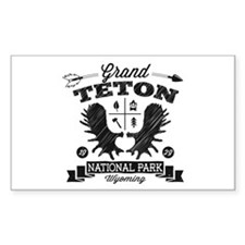Grand Teton Camper Decal