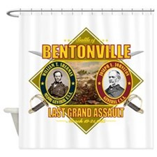 Bentonville (battle)1.png Shower Curtain