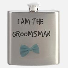 I Am the Groomsman Flask