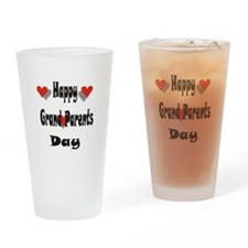 Happy Grand Parents Day Drinking Glass