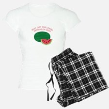 Quit Swallowing Watermelon Seeds Pajamas