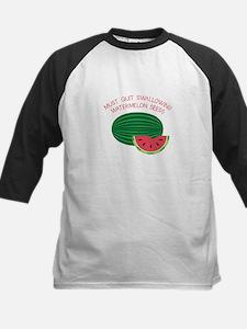 Quit Swallowing Watermelon Seeds Baseball Jersey