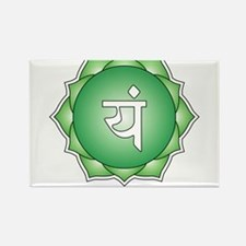 Fourth Chakra Rectangle Magnet