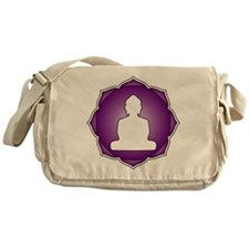 LotusBuddha_6th.psd Messenger Bag