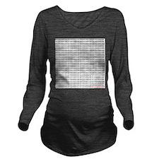 many_oms.psd Long Sleeve Maternity T-Shirt