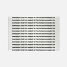 many_oms.psd Rectangle Magnet (100 pack)