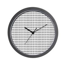 many_oms.psd Wall Clock