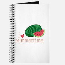 I Love Summertime Journal