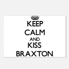 Keep Calm and Kiss Braxton Postcards (Package of 8