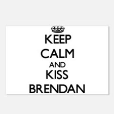 Keep Calm and Kiss Brendan Postcards (Package of 8