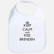 Keep Calm and Kiss Brenden Bib