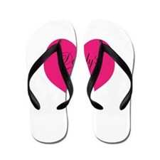Daddys Little Girl Pink Small Flip Flops
