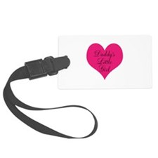 Daddys Little Girl Pink Small Luggage Tag