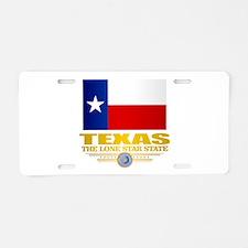 Texas (flag 15) Aluminum License Plate
