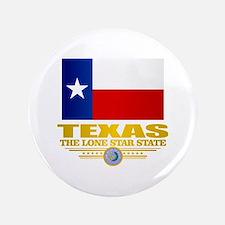 """Texas (flag 15) 3.5"""" Button"""