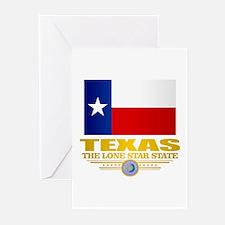 Texas (flag 15) Greeting Cards