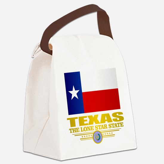 Texas (flag 15) Canvas Lunch Bag