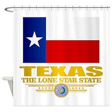 Texas (flag 15) Shower Curtain