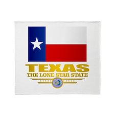Texas (flag 15) Throw Blanket