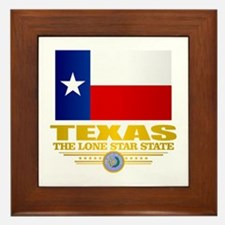 Texas (flag 15) Framed Tile