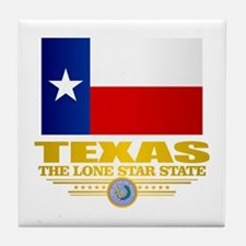 Texas (flag 15) Tile Coaster