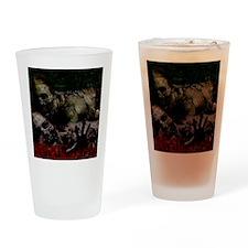 The Walking Dead Drinking Glass