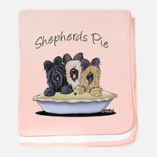 Shepherds Pie baby blanket