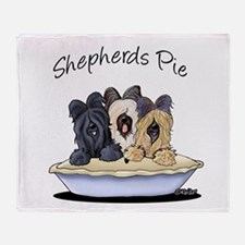 Shepherds Pie Throw Blanket