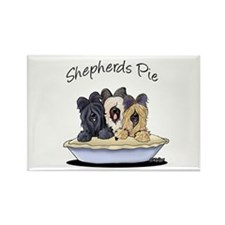 Shepherds Pie Rectangle Magnet