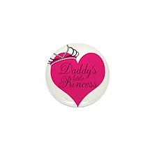 Daddys Little Princess Mini Button (10 pack)