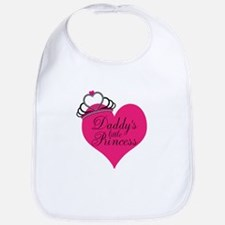 Daddys Little Princess Bib