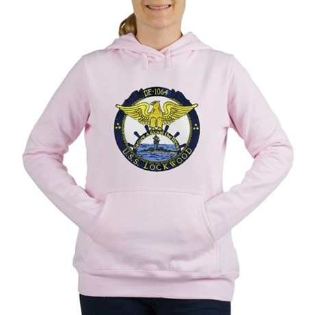 USS LOCKWOOD Women's Hooded Sweatshirt