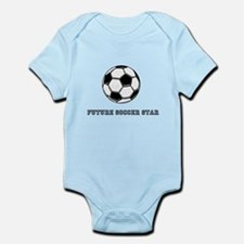 Bright Star Soccer Star Body Suit